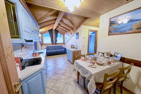 The living area Rosengarden Alpine Residence