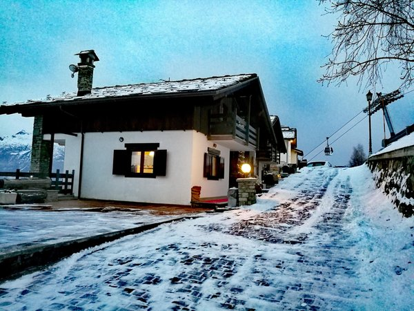 Photo exteriors in winter Maison Sylvie