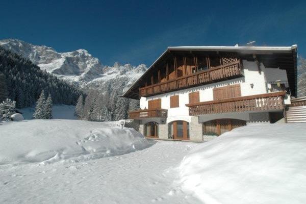 Foto invernale di presentazione Casa Bellini - Appartamenti