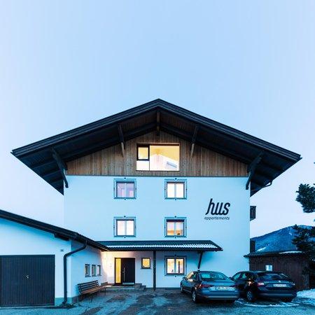 Winter presentation photo Apartments Hus - Apartments 3 suns