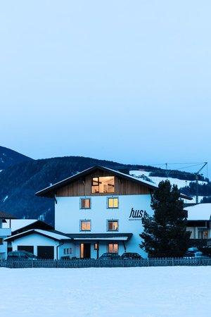Photo exteriors in winter Appartamenti Hus