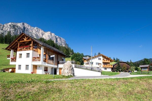 Foto esterno in estate Agriturismo Maso Runch-Hof