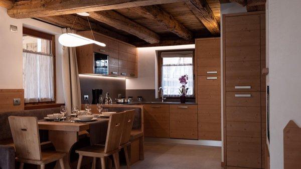Foto della cucina Stella Alpina Suite