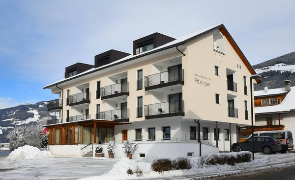 Foto invernale di presentazione Residence Pitzinger