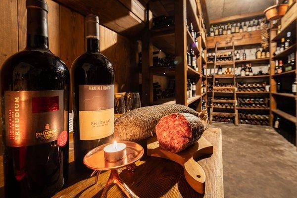 La cantina dei vini San Vito di Cadore La Scaletta