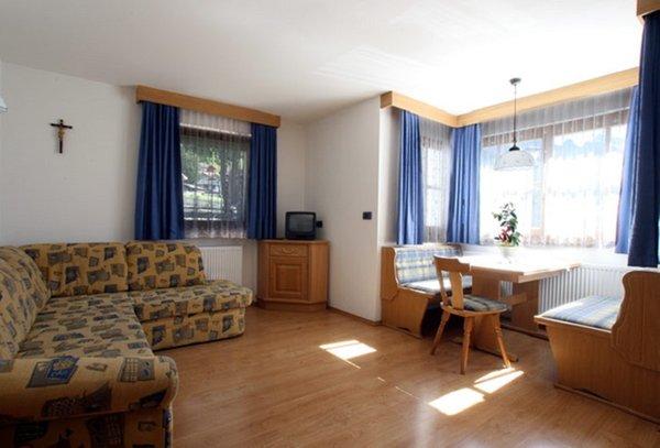 La zona giorno Appartamenti Nadia