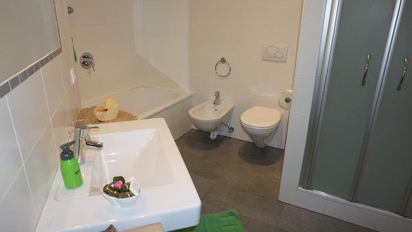 Foto del bagno Appartamento Lampenhof