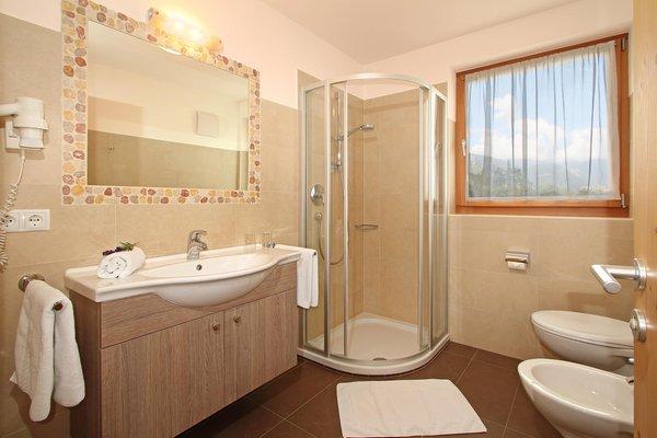 Foto del bagno Appartamenti in agriturismo Mair am Bach