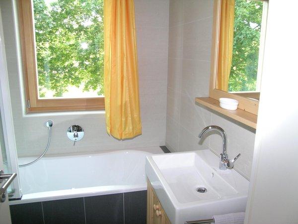 Foto del bagno Appartamenti Silbernagl