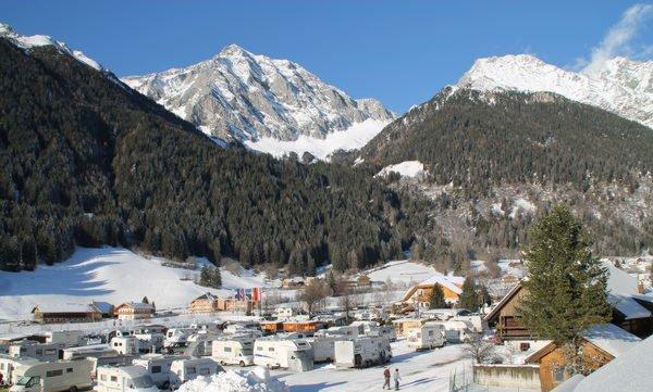 Foto invernale di presentazione Antholz -
