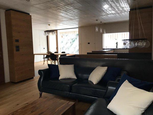 The living area Chalet Coeur des Dolomites - Apartments 3 stars