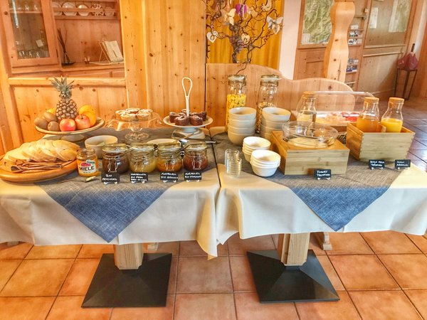 The breakfast Eco-Baita Natura Spensierata - Guest house