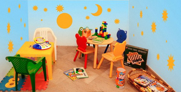 La sala giochi Pensione in agriturismo Soleseid