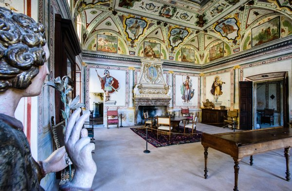 The common areas Palazzo Vertemate Franchi