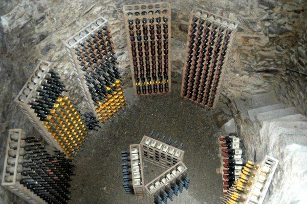 Wine cellar Tirano Palazzo Salis