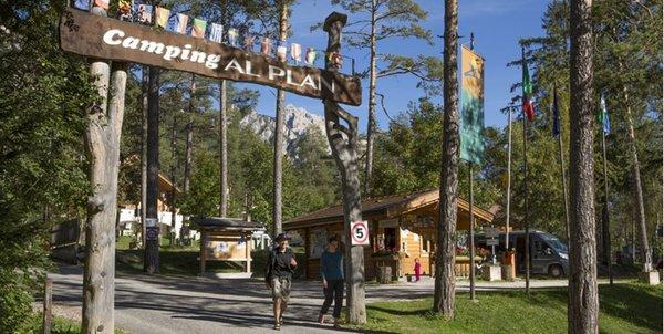 Foto estiva di presentazione Camping Al Plan