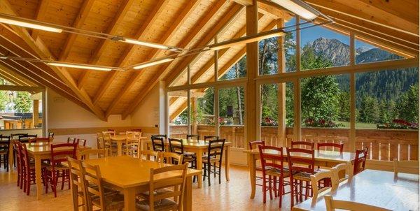Il ristorante San Vigilio Camping Al Plan