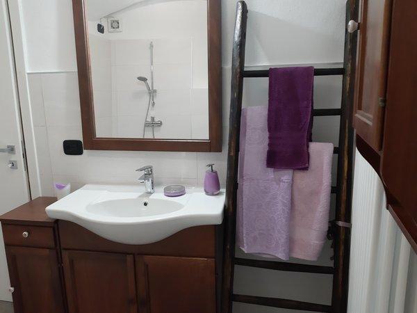 Foto del bagno Appartamento La Canonica