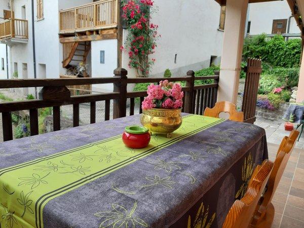 Foto del balcone La Canonica