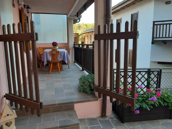 Foto esterno in estate Casa Bernardi