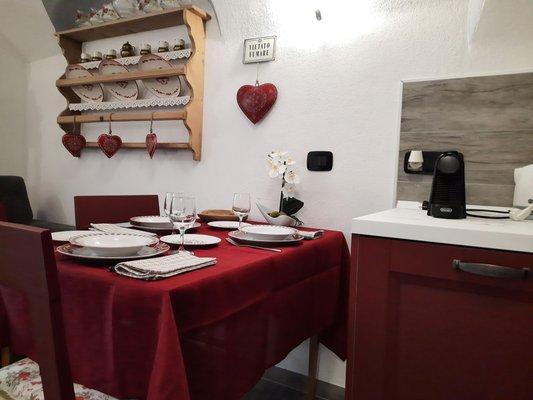 Foto della cucina Casa Bernardi
