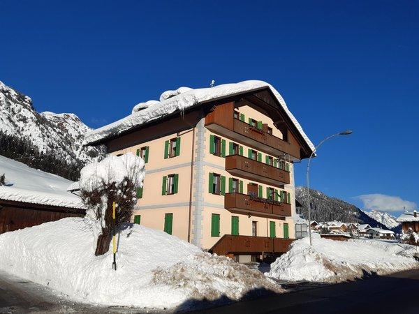 Foto invernale di presentazione Appartamenti Kratter Sara