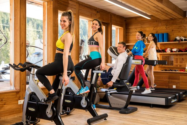 Foto della zona fitness Caravan Park Sexten - Glamping
