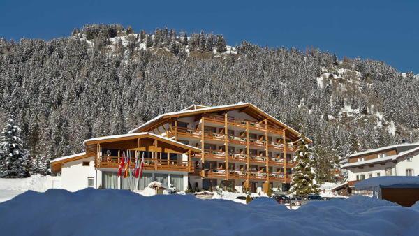 Winter Präsentationsbild Arthotel Anterleghes - Hotel 4 Sterne