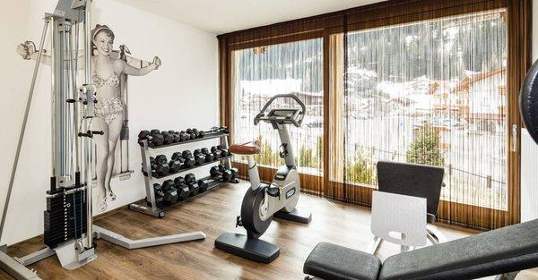 Foto vom Fitness-Bereich Arthotel Anterleghes