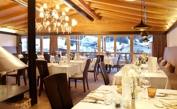 Das Restaurant Wolkenstein Arthotel Anterleghes