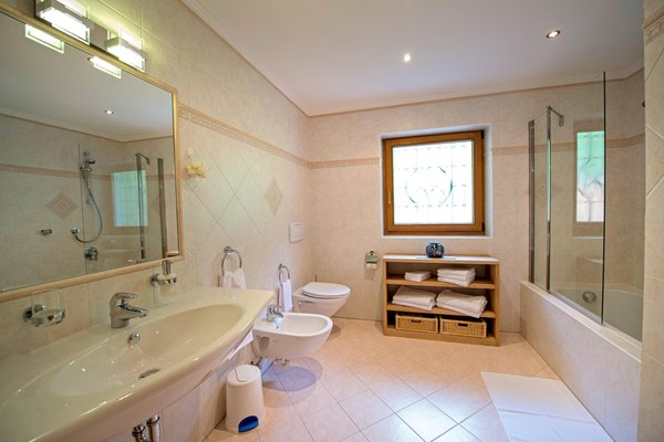 Foto del bagno Appartamento Chalet Prinoth
