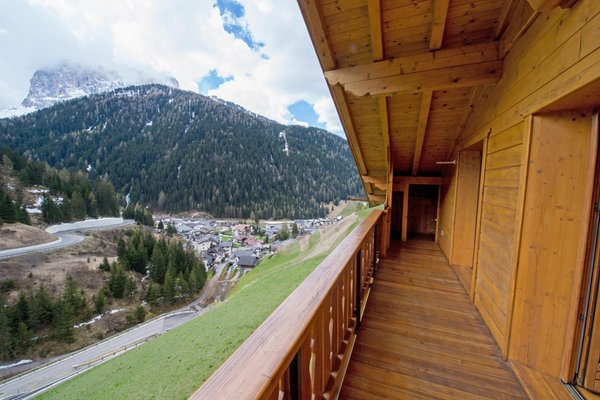 Foto del balcone Chalet Prinoth