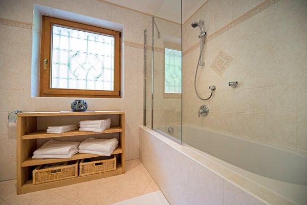 Foto del bagno Appartamento Chalet Prinoth