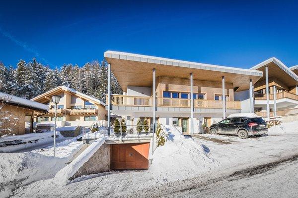 Foto invernale di presentazione Ciasa Dolomites - Appartamenti 3 soli