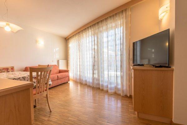 La zona giorno Ciasa Dolomites - Appartamenti 3 soli