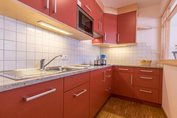 Foto della cucina Ciasa Dolomites