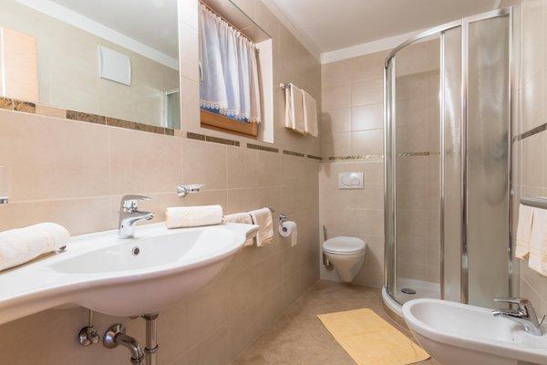 Foto del bagno Appartamenti Ciasa Dolomites
