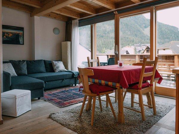 La zona giorno Appartamenti Irene