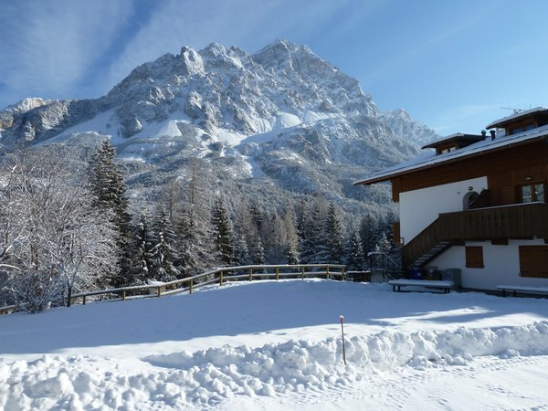 Foto Außenansicht im Winter Zannin