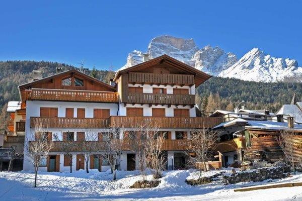 Foto invernale di presentazione Appartamenti Zannin