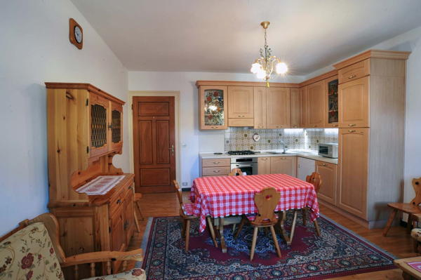 Foto della cucina Ciasa Ventejelo