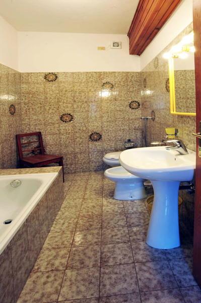 Foto del bagno Appartamenti Ciasa Ventejelo