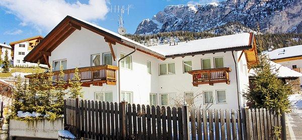 Foto invernale di presentazione Appartamenti Chalet Villa Muse