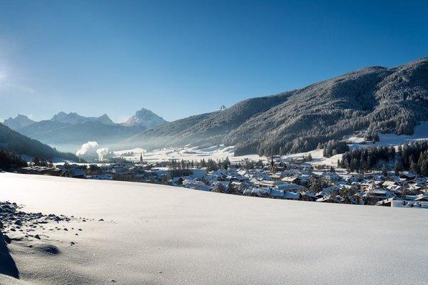 Winter Präsentationsbild Tourismusverein Gsieser Tal - Welsberg - Taisten