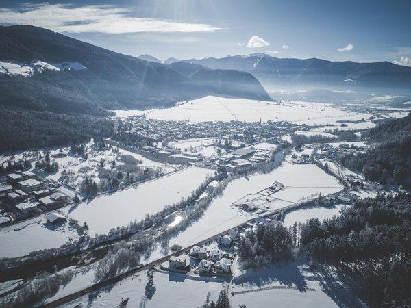 Foto Außenansicht im Winter Informationsbüro Gais - Uttenheim