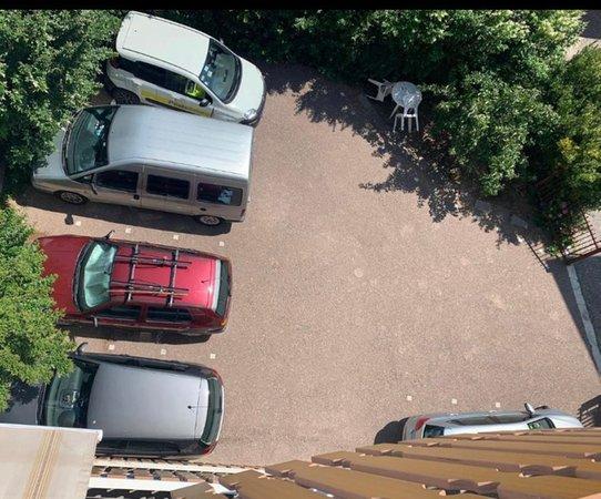 Il parcheggio Appartamenti Villa Maria