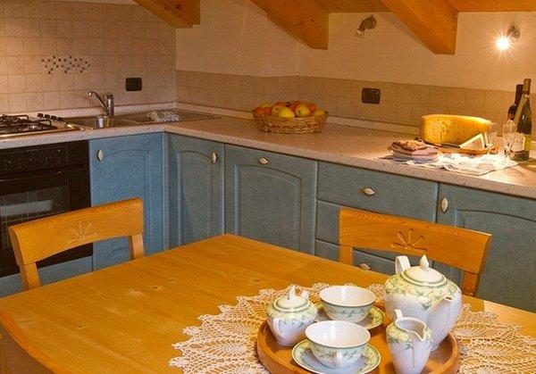 Foto der Küche Casa Le Marinolde