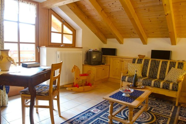 Der Wohnraum Ferienwohnungen Casa Le Marinolde