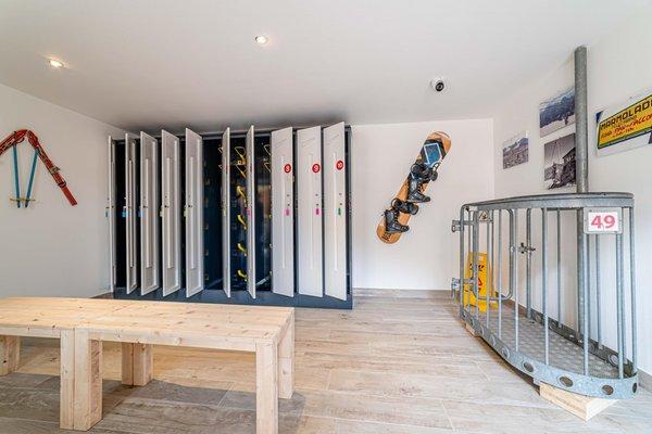 La skiroom Blizzard Apartments