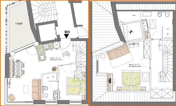 La planimetria Apartment Central Home